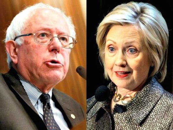 Hillary & Bernie