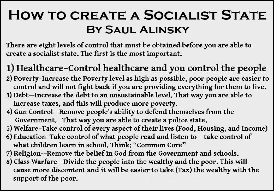 How to create a Socialist state